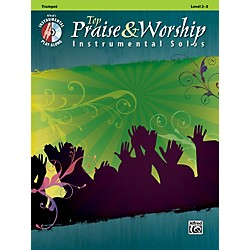 Alfred Top Praise & Worship Instrumental Solos - Trumpet, Level 2-3 (Book/CD) (00-34234)