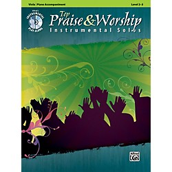 Alfred Top Praise & Worship Instrumental Solos - Viola, Level 2-3 (Book/CD) (00-34249)