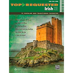 Alfred Top-Requested Irish Sheet Music - P/V/C Book (00-40621)