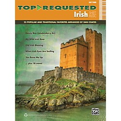 Alfred Top-Requested Irish Sheet Music Easy Piano Book (00-40638)