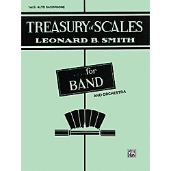 Alfred Treasury of Scales for Band and Orchestra 1st E-Flat Alto Saxophone (00-EL01879)