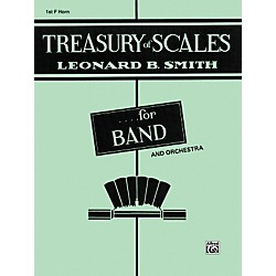 Alfred Treasury of Scales for Band and Orchestra 1st F Horn (00-EL01888)