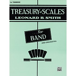 Alfred Treasury of Scales for Band and Orchestra 1st Trombone (00-EL01890)