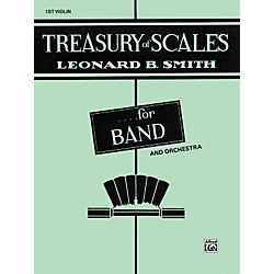Alfred Treasury of Scales for Band and Orchestra 1st Violin (00-EL01899)