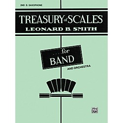 Alfred Treasury of Scales for Band and Orchestra 2nd E-Flat Alto Saxophone (00-EL01880)