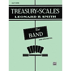 Alfred Treasury of Scales for Band and Orchestra 2nd F Horn (00-EL01889)