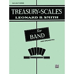 Alfred Treasury of Scales for Band and Orchestra 3rd & 4th F Horns (00-EL01889A)