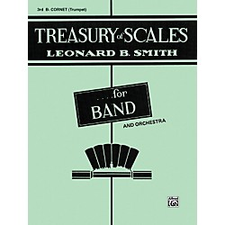 Alfred Treasury of Scales for Band and Orchestra 3rd B-Flat Cornet (00-EL01885)