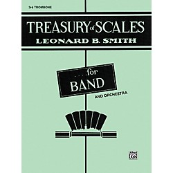 Alfred Treasury of Scales for Band and Orchestra 3rd Trombone (00-EL01892)