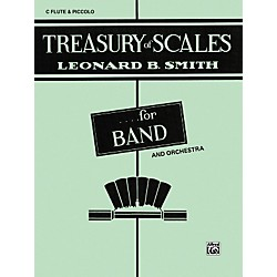 Alfred Treasury of Scales for Band and Orchestra C Flute (Piccolo) (00-EL01869)