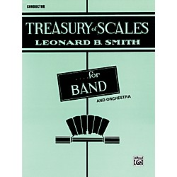 Alfred Treasury of Scales for Band and Orchestra Conductor (00-EL01868)