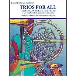 Alfred Trios for All B-Flat Clarinet Bass Clarinet (00-PROBK01393)