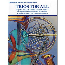 Alfred Trios for All Bass Clef (00-PROBK01397)