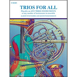Alfred Trios for All Horn in F (00-PROBK01396)