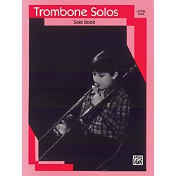Alfred Trombone Solos Level I Solo Book (00-EL03118)