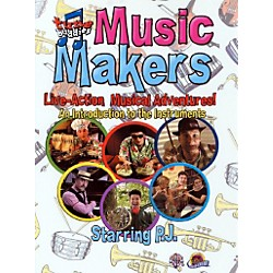 Alfred Tune Buddies Music Makers An Introduction to the Instruments DVD (00-905663)