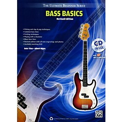Alfred Ultimate Beginner Bass Basics (Revised Edition) Book & CD (00-UBSBK300R)