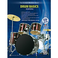 Alfred Ultimate Beginner Drum Basics (Revised Edition) Book & CD (00-UBSBK001R)