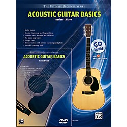 Alfred Ultimate Beginner Mega Pak Acoustic Guitar Basics (Rev. Ed.) Book, CD & DVD (00-DVD1002R)