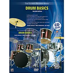 Alfred Ultimate Beginner Mega Pak Drum Basics (Revised Ed.) Book, CD & DVD (00-DVD4000R)