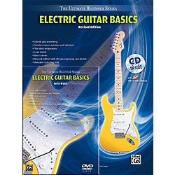 Alfred Ultimate Beginner Mega Pak Electric Guitar Basics (Rev. Ed.) Book, CD & DVD (00-DVD1000R)