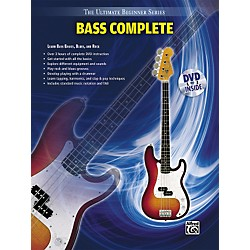 Alfred Ultimate Beginner Series Bass Complete Book & DVD (00-31442)