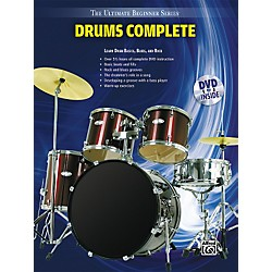 Alfred Ultimate Beginner Series Drums Complete Book & DVD (00-31454)