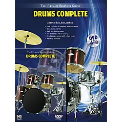 Alfred Ultimate Beginner Series Drums Complete Book & DVD (00-31451)