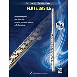 Alfred Ultimate Beginner Series Flute Basics Book & DVD (00-39597)