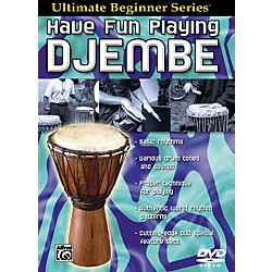 Alfred Ultimate Beginner Series Have Fun Playing Hand Drums Djembe DVD (00-905856)