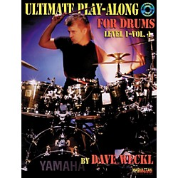 Alfred Ultimate Play-Along for Drums - Level 1 - Volume 1 Book/CD (00-MMBK0048CD)