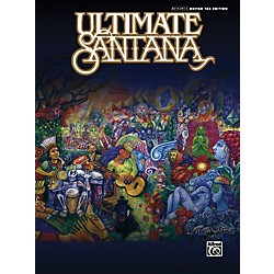 Alfred Ultimate Santana Guitar Tab Book (00-29046)