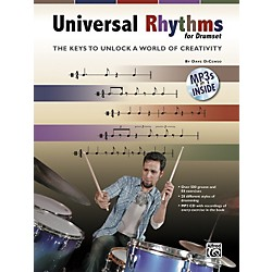 Alfred Universal Rhythms for Drumset: The Keys to Unlock a World of Creativity (Book/CD) (00-32821)