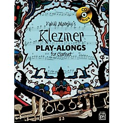 Alfred Vahid Matejko's Klezmer Play-Alongs for Clarinet Book & CD (00-20139US)