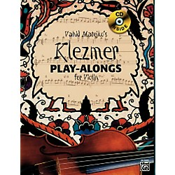 Alfred Vahid Matejko's Klezmer Play-Alongs for Violin Book & CD (00-20138US)