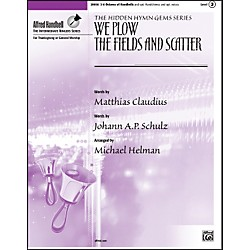 Alfred We Plow the Fields and Scatter 3-6 Octaves (00-29956)