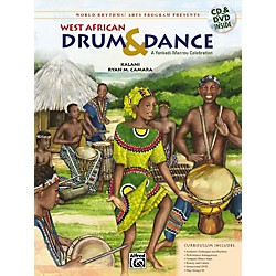 Alfred West African Drum & Dance: A Yankadi-Macrou Celebration (CD) (00-24450)