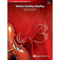 Alfred Winter Holiday Medley String Orchestra Grade 2 Set (00-41184)
