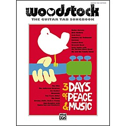 Alfred Woodstock: The Guitar TAB Songbook (00-32740)