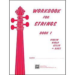 Alfred Workbook for Strings Book 1 Bass (00-13173)