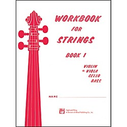 Alfred Workbook for Strings Book 1 Viola (00-13171)