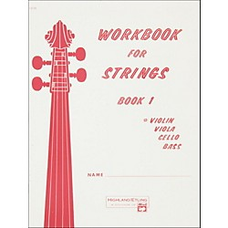 Alfred Workbook for Strings Book 1 Violin (00-13170)