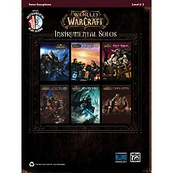 Alfred World of Warcraft Instrumental Solos Tenor Sax Book & CD (00-36635)