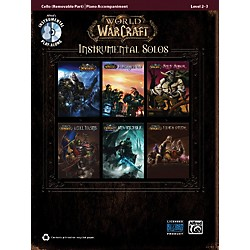 Alfred World of Warcraft Instrumental Solos for Strings Cello Book & CD (00-36656)