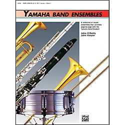 Alfred Yamaha Band Ensembles Book 1 Percussion (00-5254)