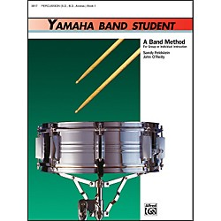 Alfred Yamaha Band Student Book 1 PercussionSnare Drum Bass Drum & Accessories (00-3917)