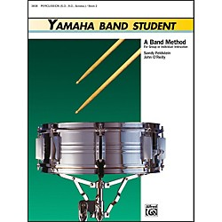 Alfred Yamaha Band Student Book 2 PercussionSnare Drum Bass Drum & Accessories (00-3938)