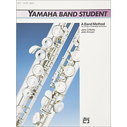 Alfred Yamaha Band Student Book 3 Flute (00-5213)
