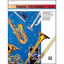 Alfred Yamaha Performance Folio B-Flat Bass Clarinet (00-11665)