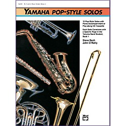 Alfred Yamaha Pop-Style Solos Trumpet/Baritone T.C. (Book & CD) (00-14614)